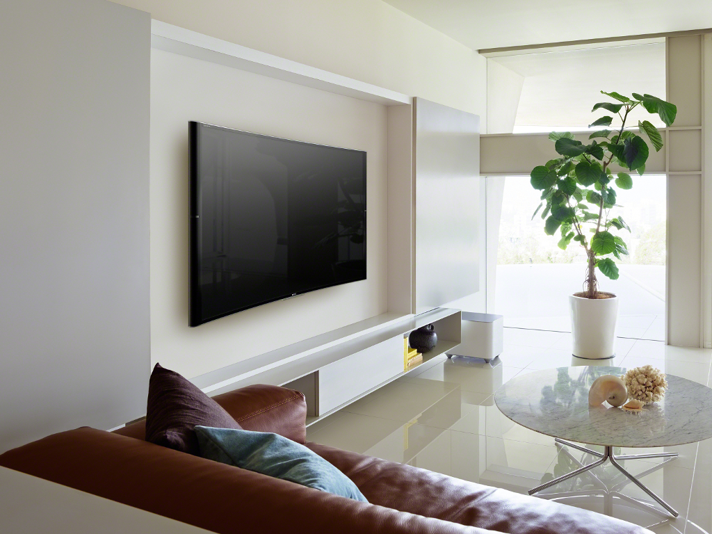 Sony introduceert curved 4K-TV met surround sound voor meer intense Home Entertainment ervaring