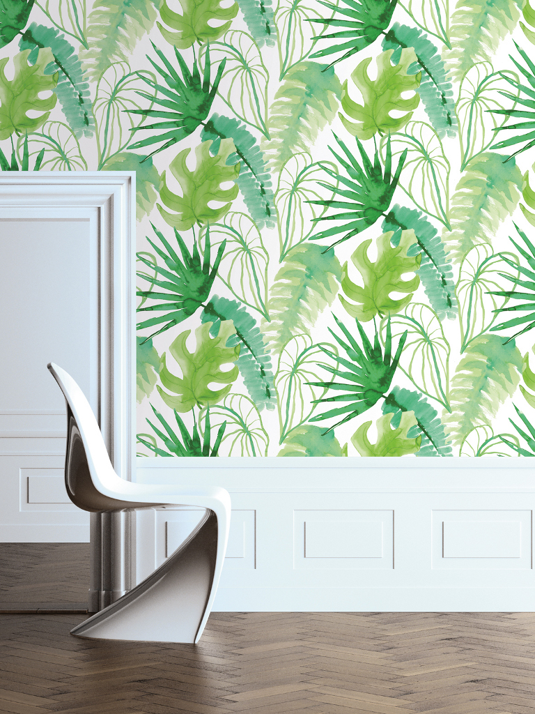 Brighten up your wall met Graham & Brown Jungle Fever behang.