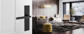 Designdeurkruk Intersteel 'Living - Black'