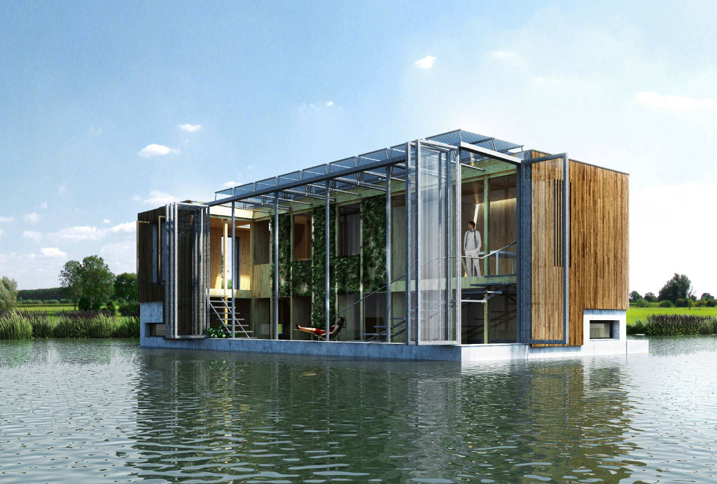 Nederland waterland nieuws for Self sufficient home designs