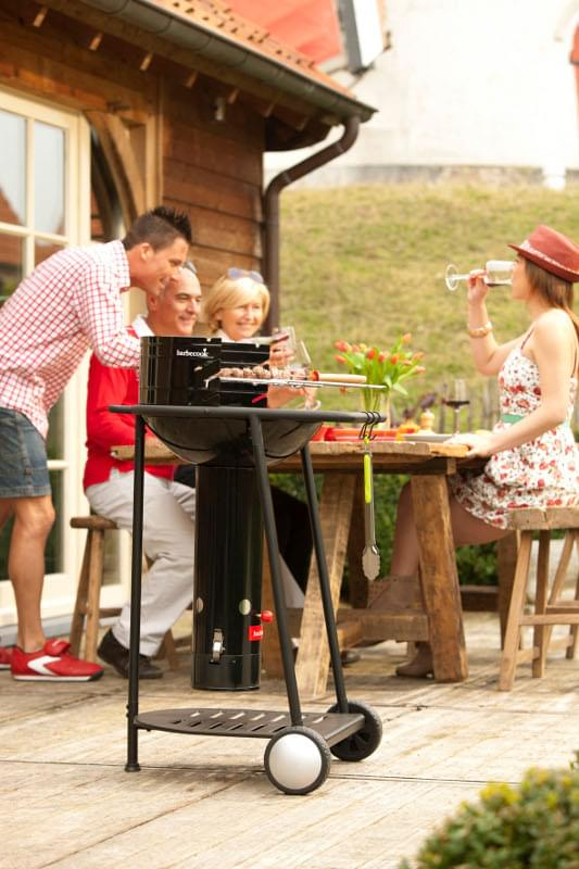 Barbecook introduceert QuickStart Go mobiele barbecue