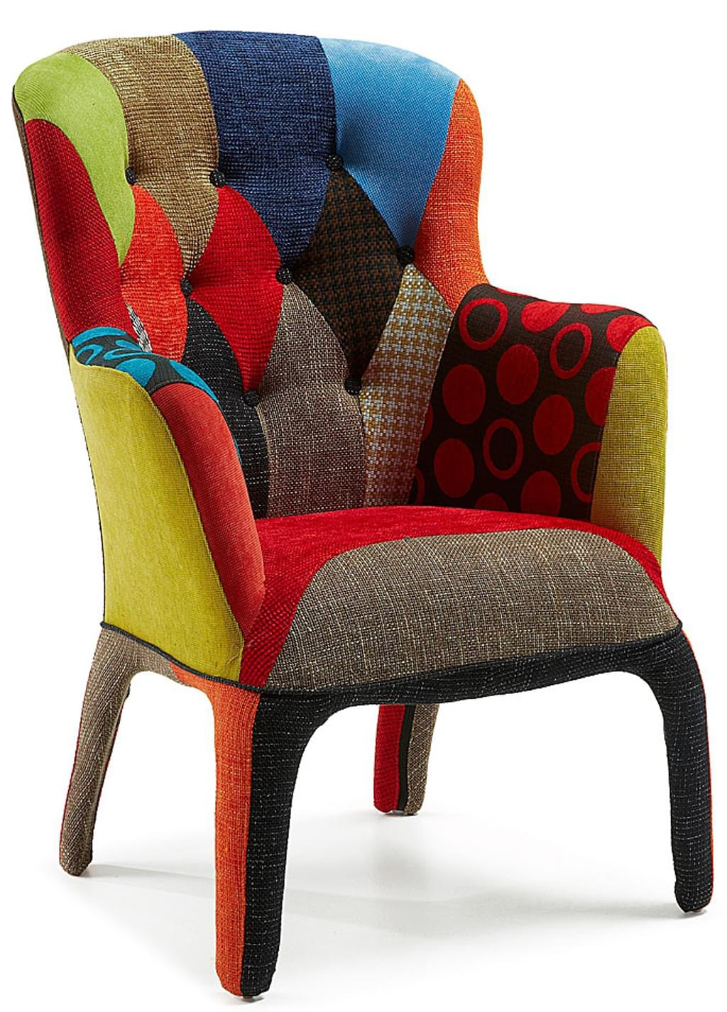 Fauteuil Coco Patchwork 24Designs.