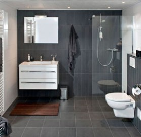 1000 images about badkamers on pinterest showers garden levels and bathroom - Tegels voor wc foto ...