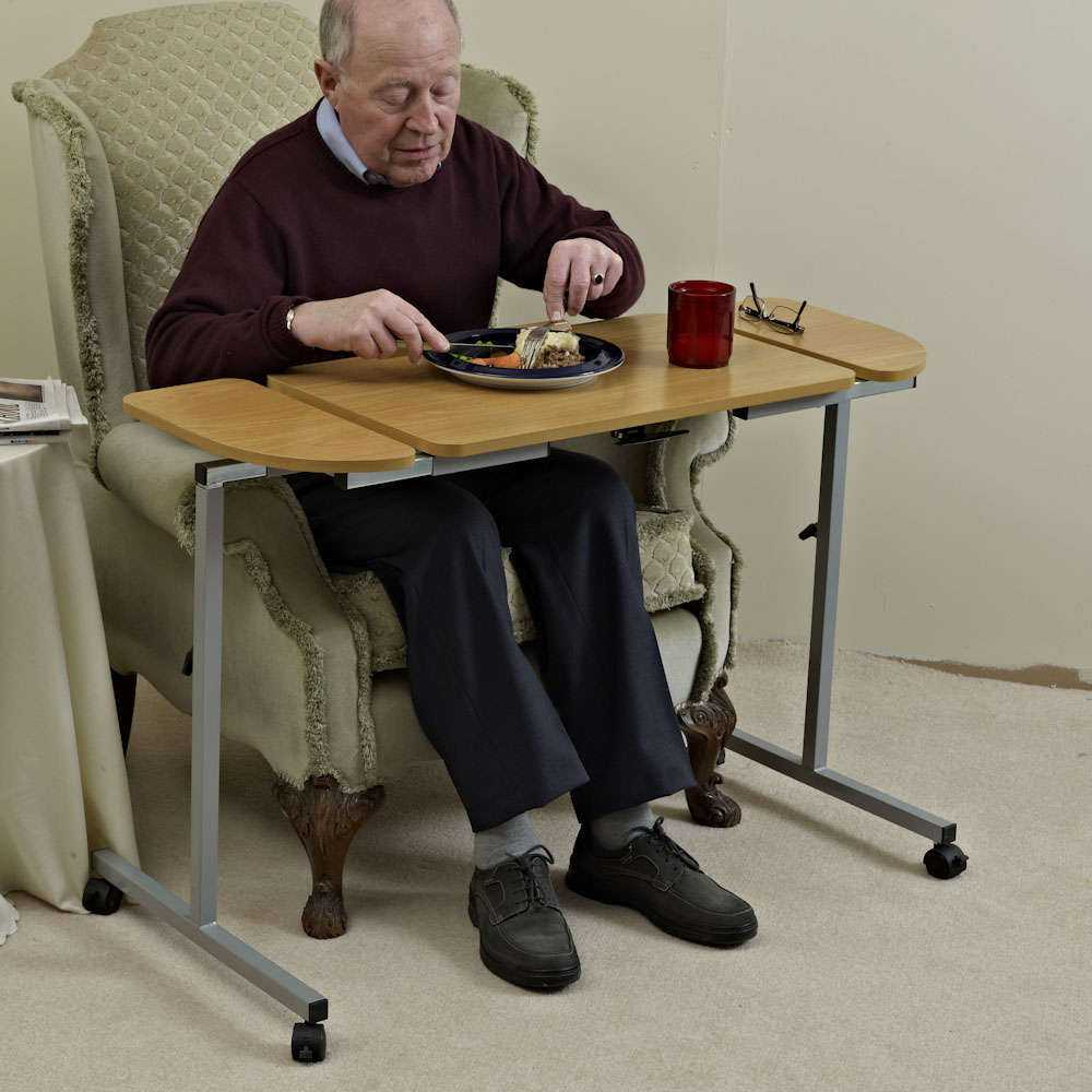 Bedtafel/M66832_4_Nrs_Adjustable_Tilting_Over_Bed_and_Over_Chair_Table.jpg