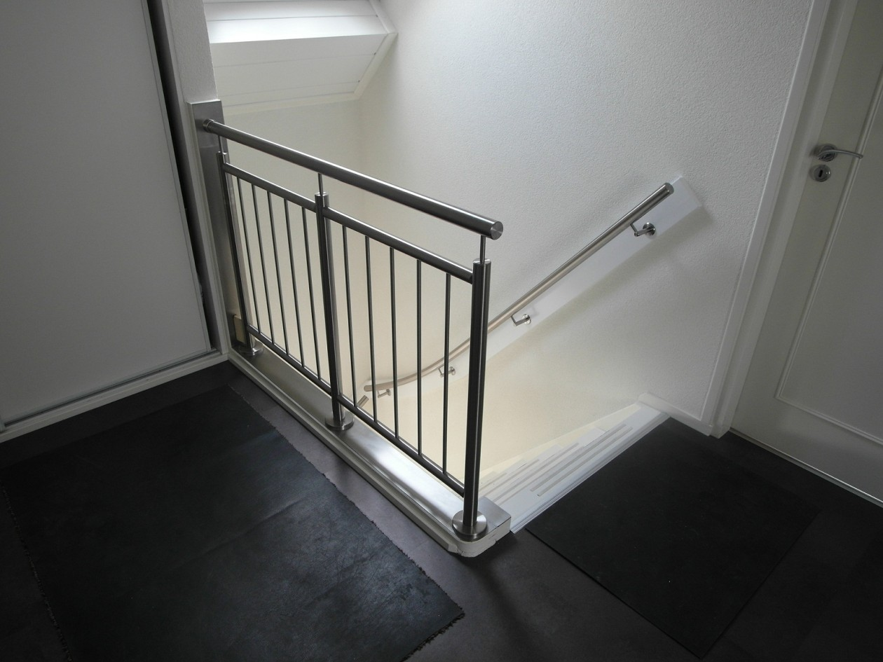 Rvs balustrade trap verbouwen - Balustrade trap ...