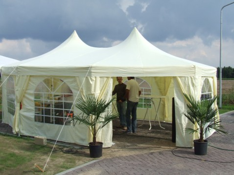 Partytent Pagodetent Milano