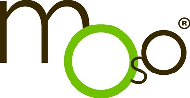 Het logo van MOSO International BV