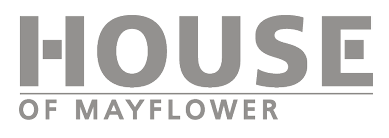 Het logo van House of Mayflower