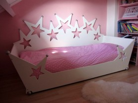 Kinderbed sterrenbedbank