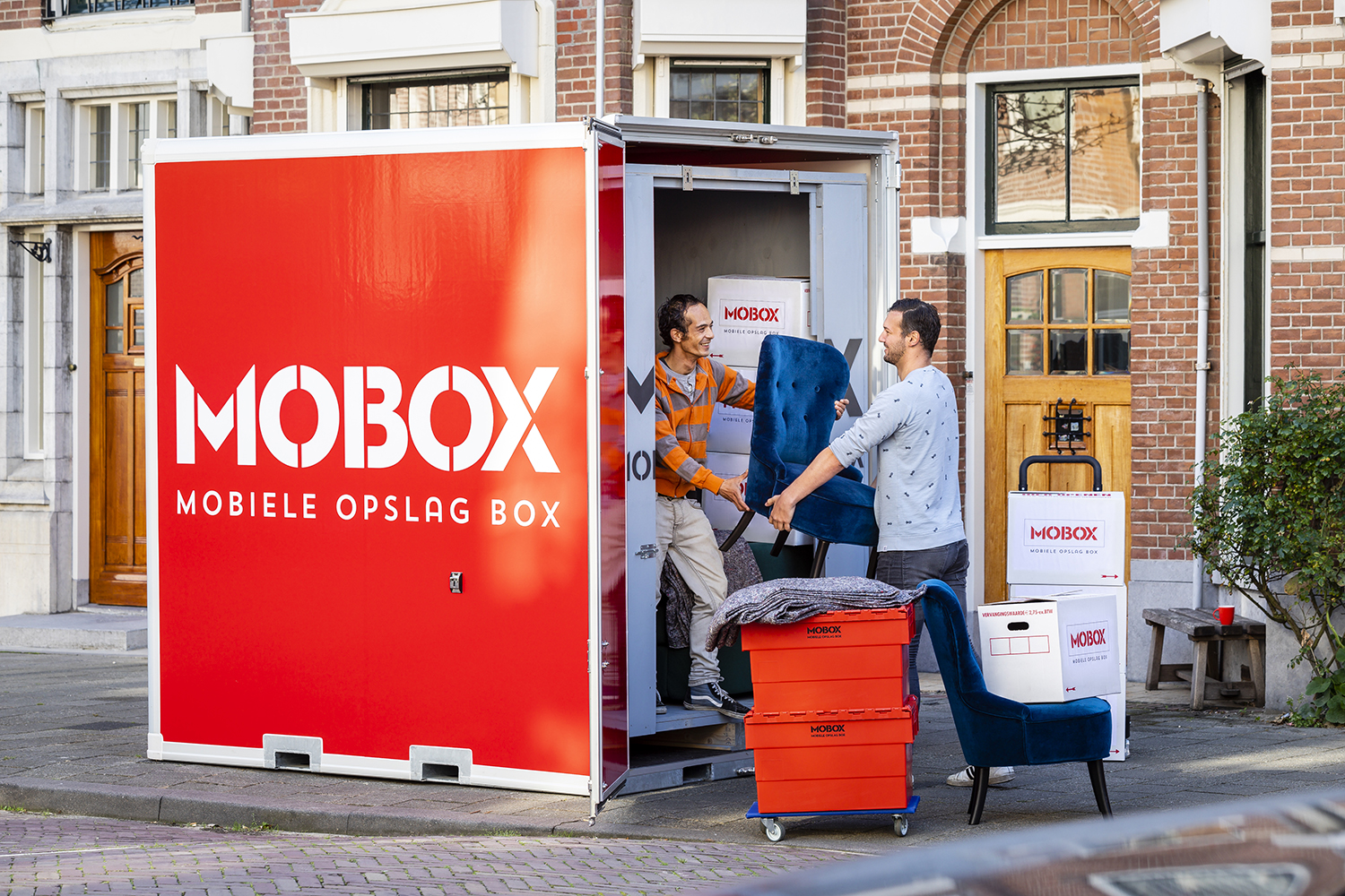 Inladen opslagbox MOBOX