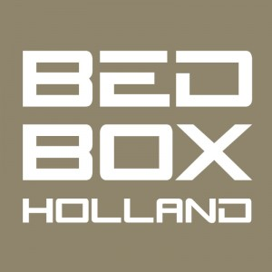 Het logo van BED BOX Holland