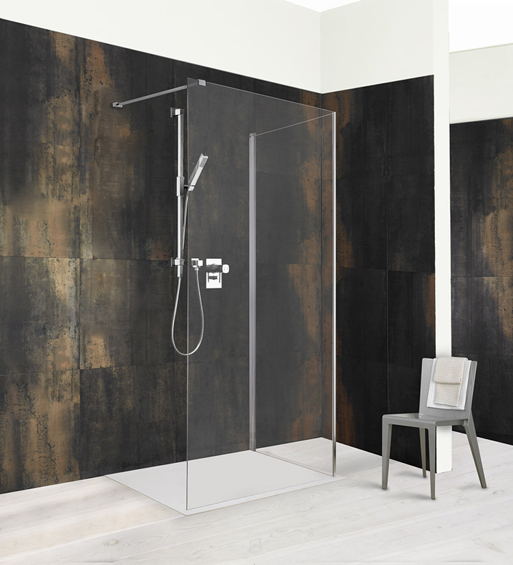 Douchecabines labyrinth douchecabine badkamer for Badkamer design italiaanse douche