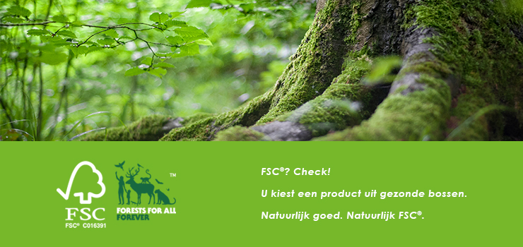 Cinzento Custom Made is FSC gecertificeerd